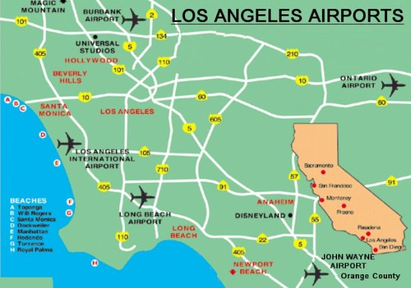 Los Angeles Airports