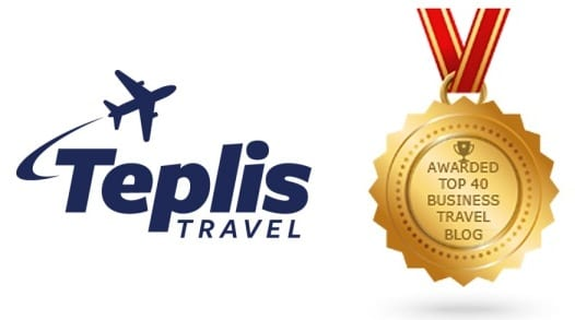 Awarded Top 40 Business Travel Blog